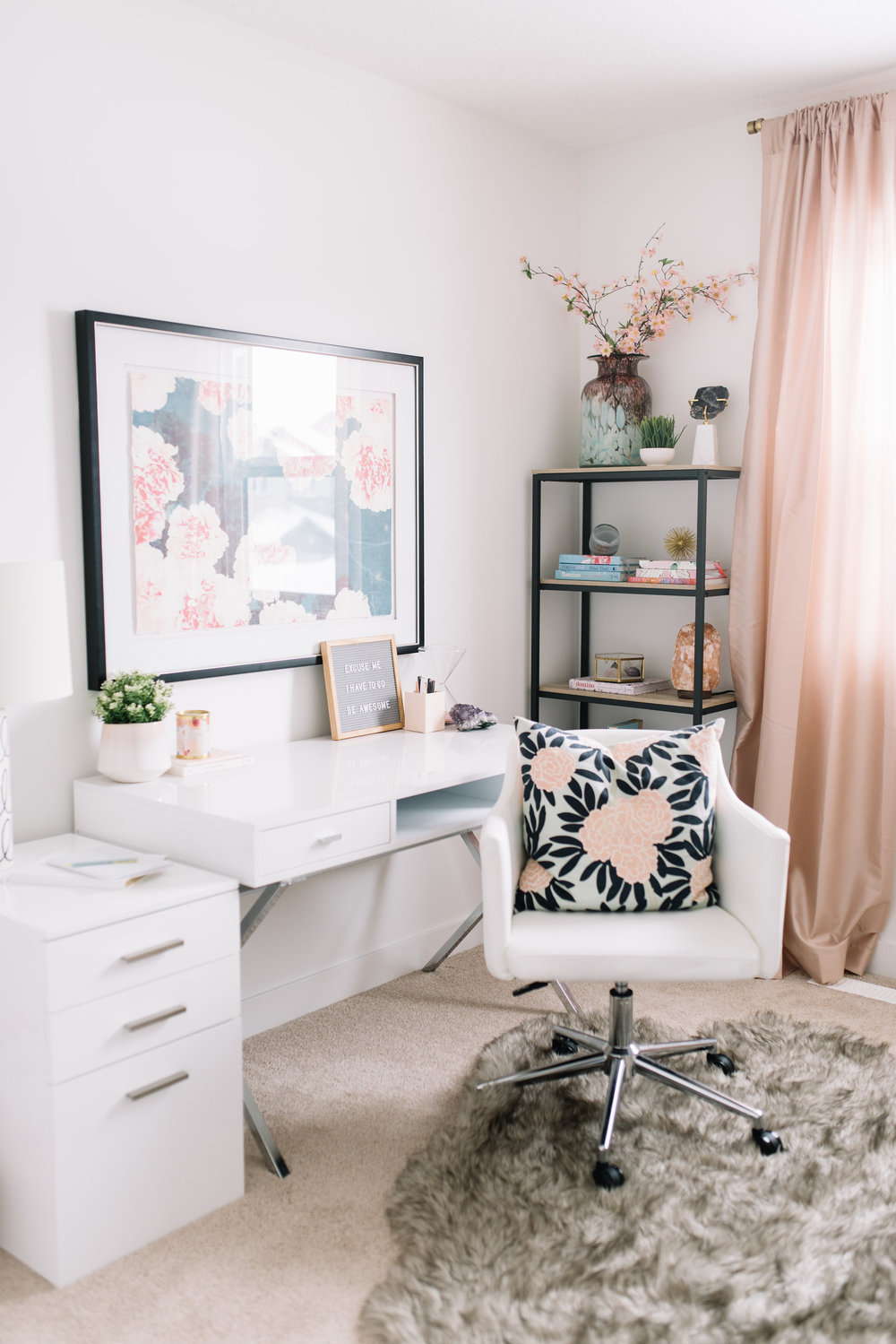 home office white.  Office Since Iu0027ve Decluttered And Reorganized I Thought Iu0027d Share A Few Tips For  Your Own Home Office To Help You Get Organized Stay Productive In Home Office White R