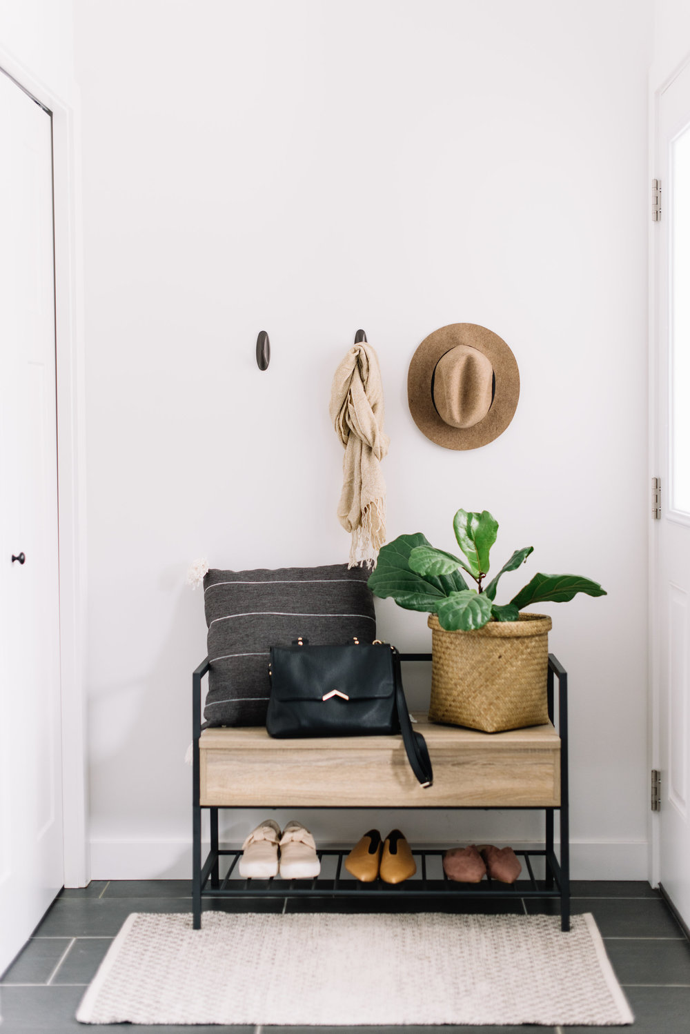 storage for entryway