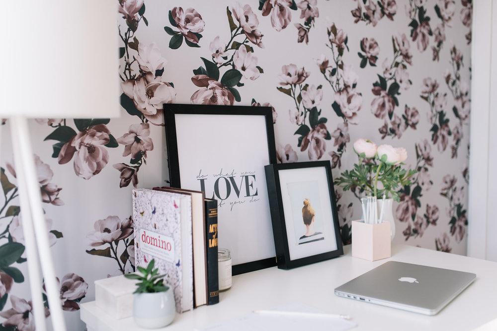 office wallpapers design 1. Pink Floral Wallpaper Office Wallpapers Design 1 H