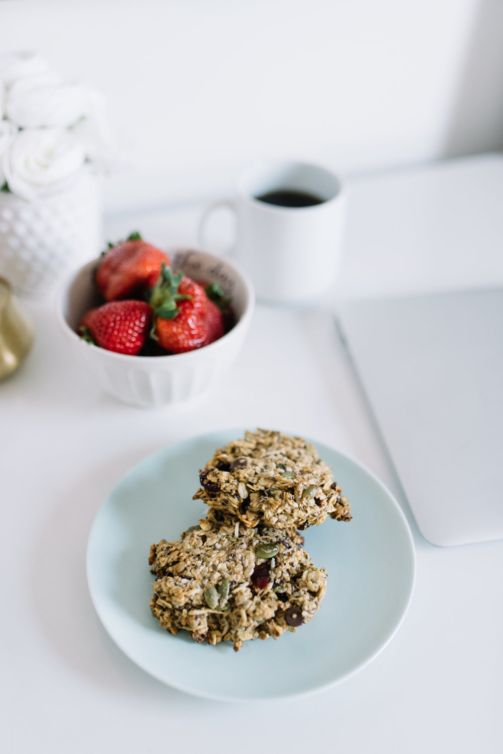 make ahead breakfast, healthy breakfast cookie