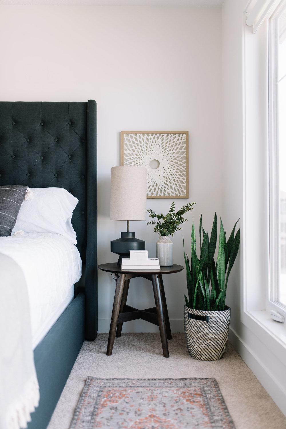modern bedside table