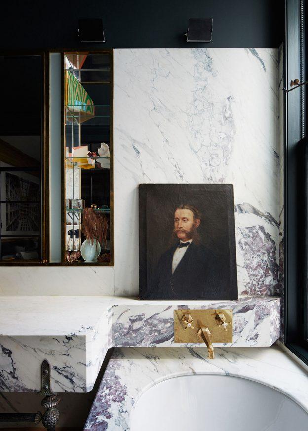 marble washroom