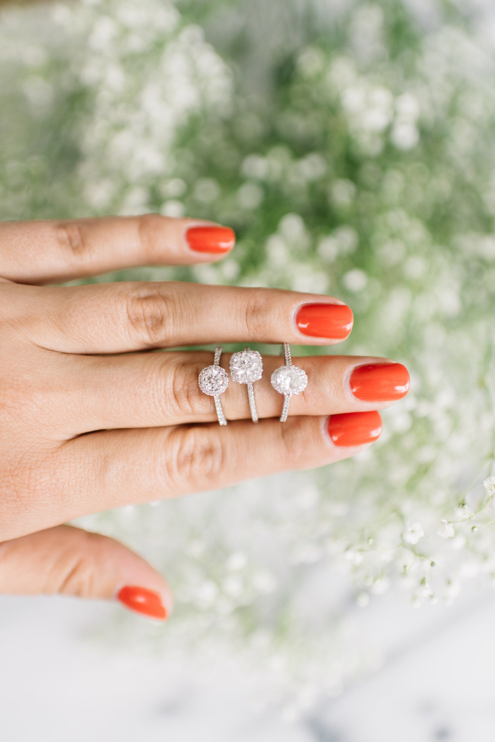 minimalist engagement ring styles