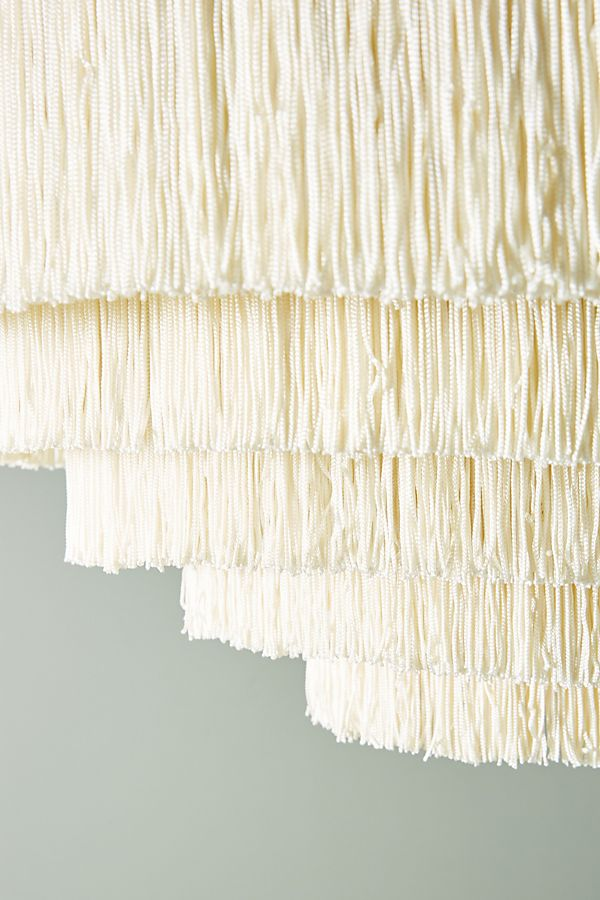 fringe pendant light, bohoemian light