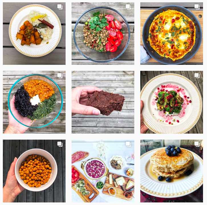 recipe review instagram account