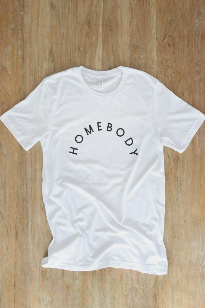 homebody t-shirt