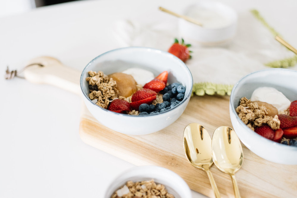 make ahead breakfast, overnight oats