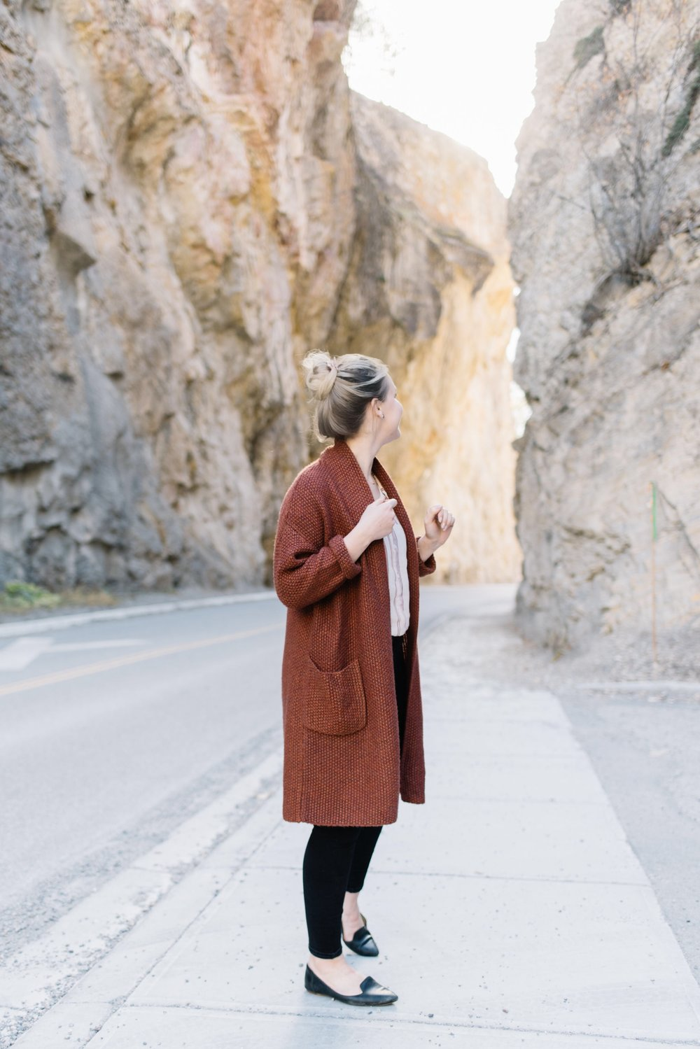 radium british columbia, fall cardigan