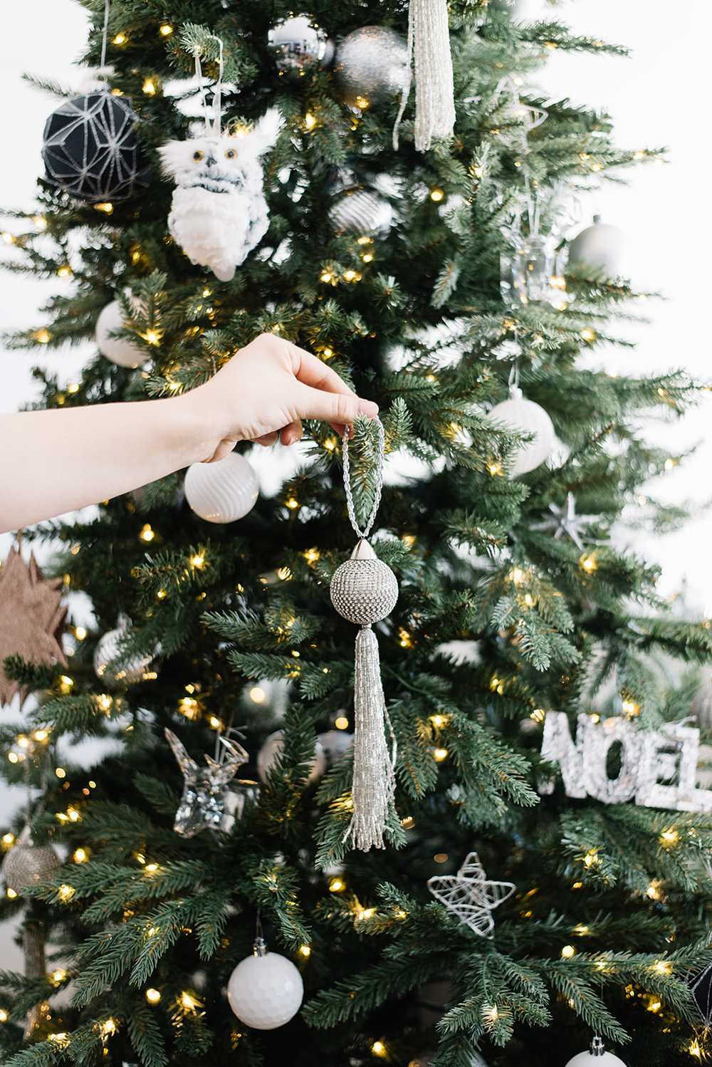 tassel christmas ornament