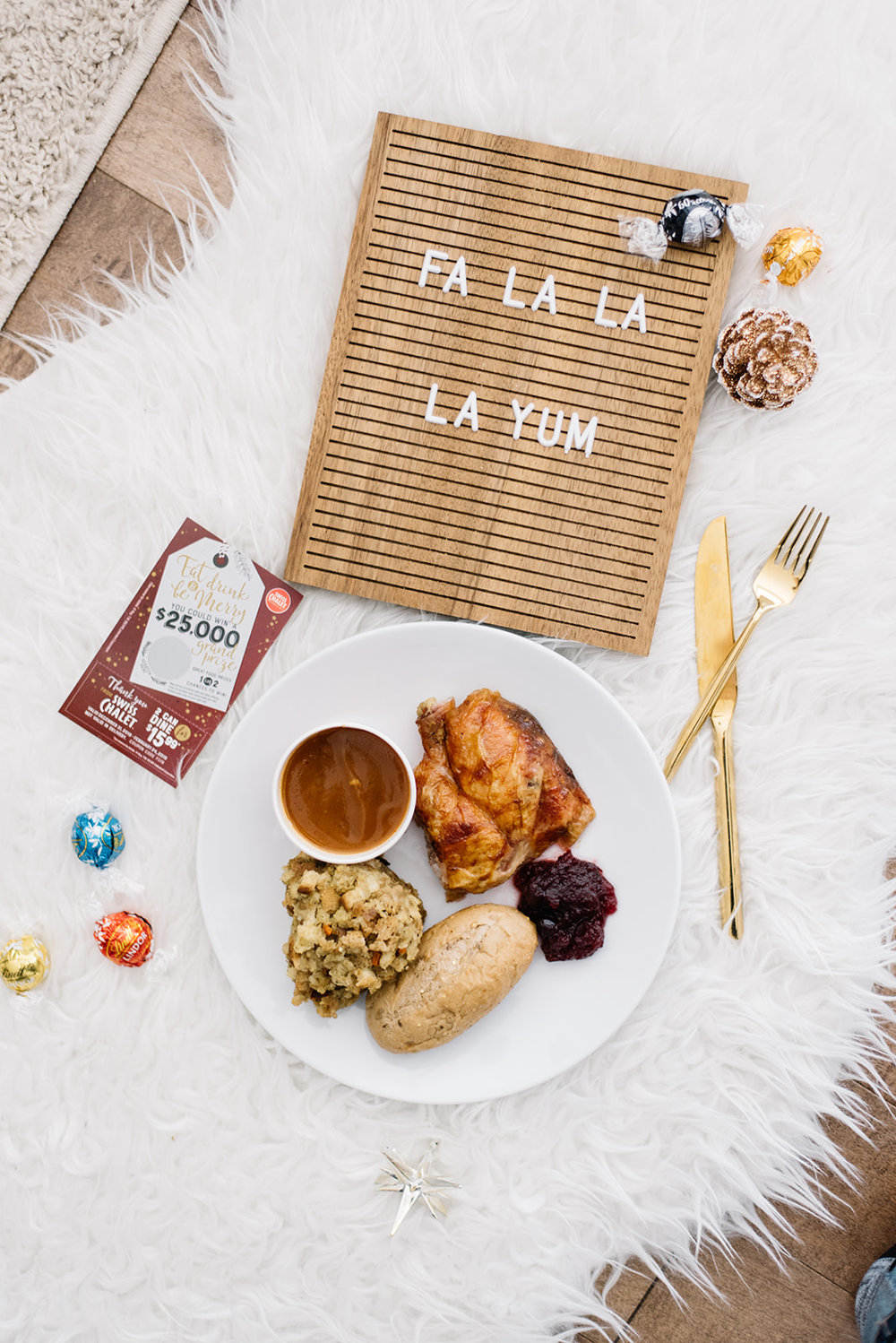 holiday festive special swiss chalet