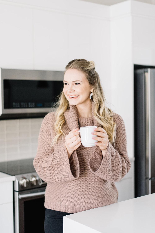 gentle fawn cozy knit