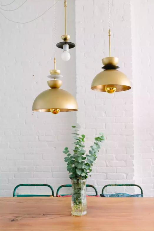 IKEA hack light fixture DIY