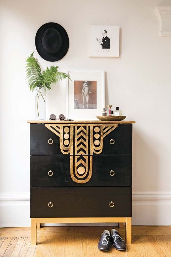 diy art deco dresser