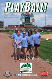 My Favorite Pet Staff at Dayton Dragons