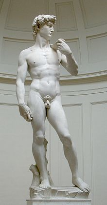 """David"" by Michelangelo, at the Accademia"