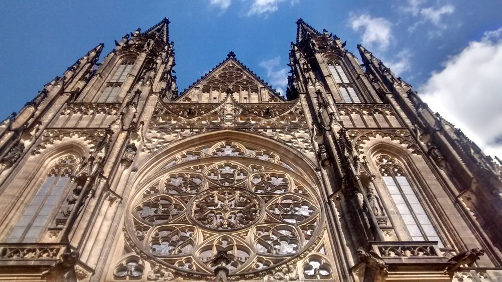 St. Vitus Cathedral, Prague (photo by me and my cell phone)