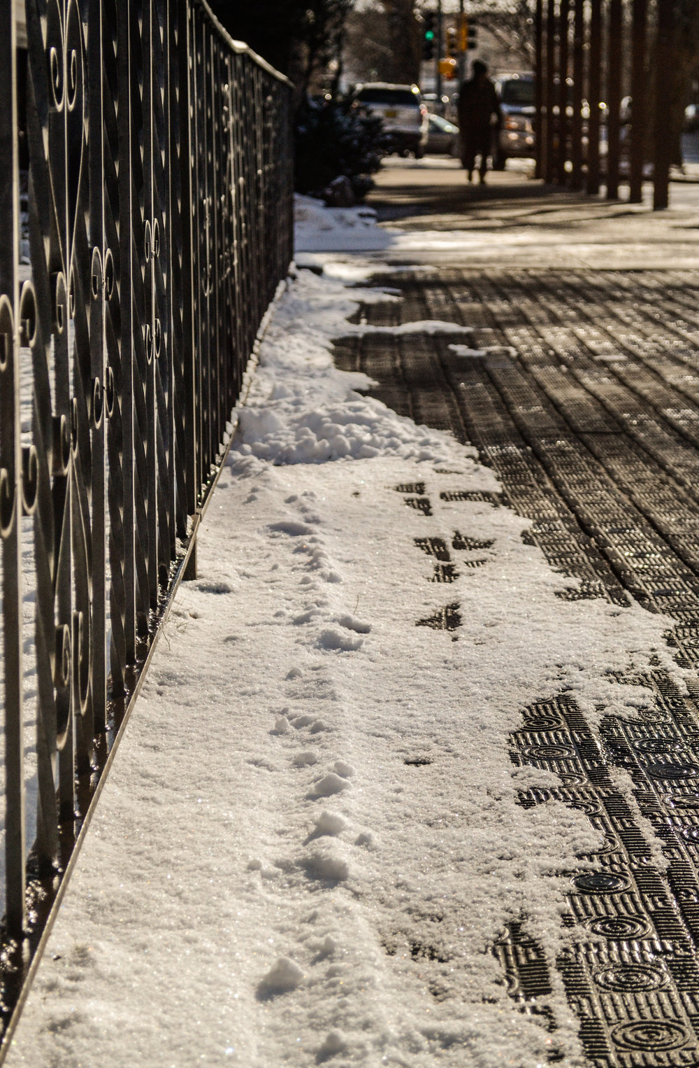Santa Fe sidewalk (photo: Andy Bruner)