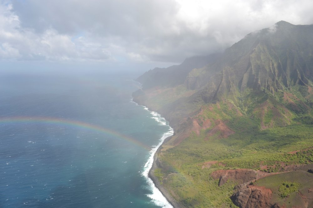Napali Coast, Kaua'i (photo: Andy Bruner)