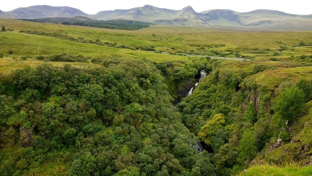 Lealt Falls, Skye
