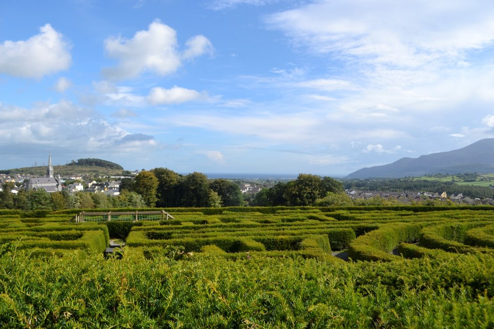 Peace Maze, Castlewellan, Northern Ireland, photo: Andy Bruner
