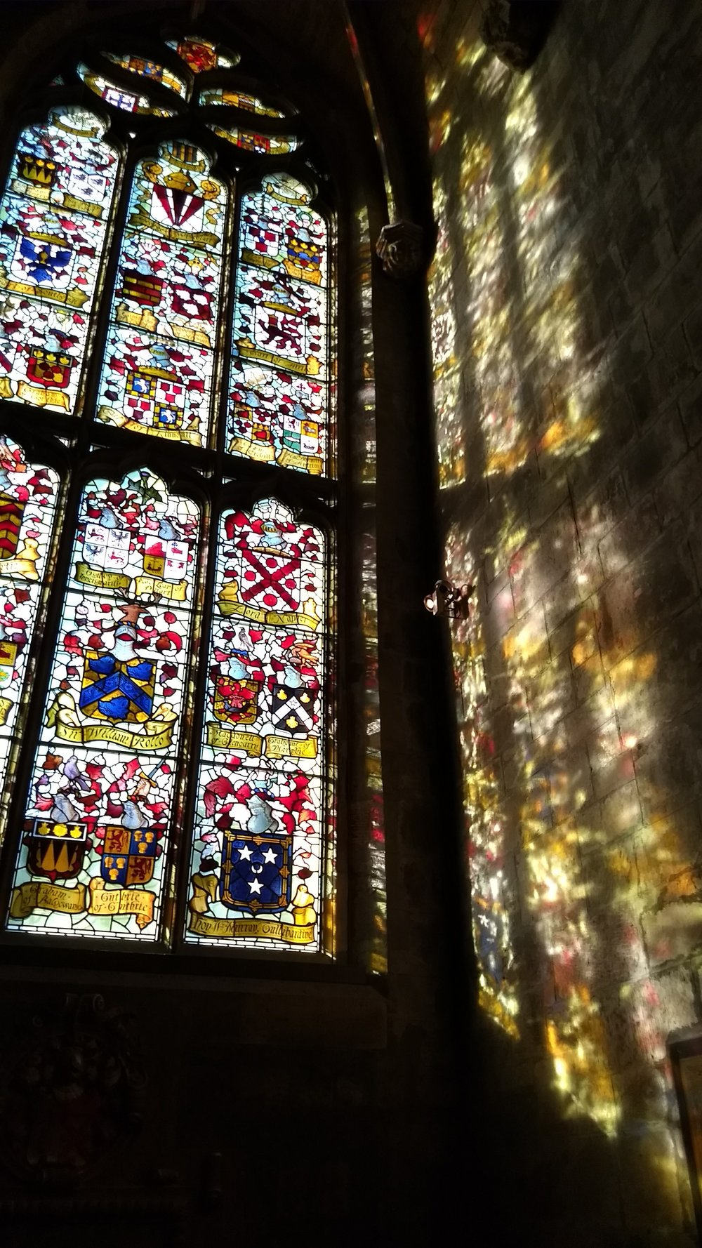 St. Giles Cathedral, Edinburgh, photo: me and my cell phone