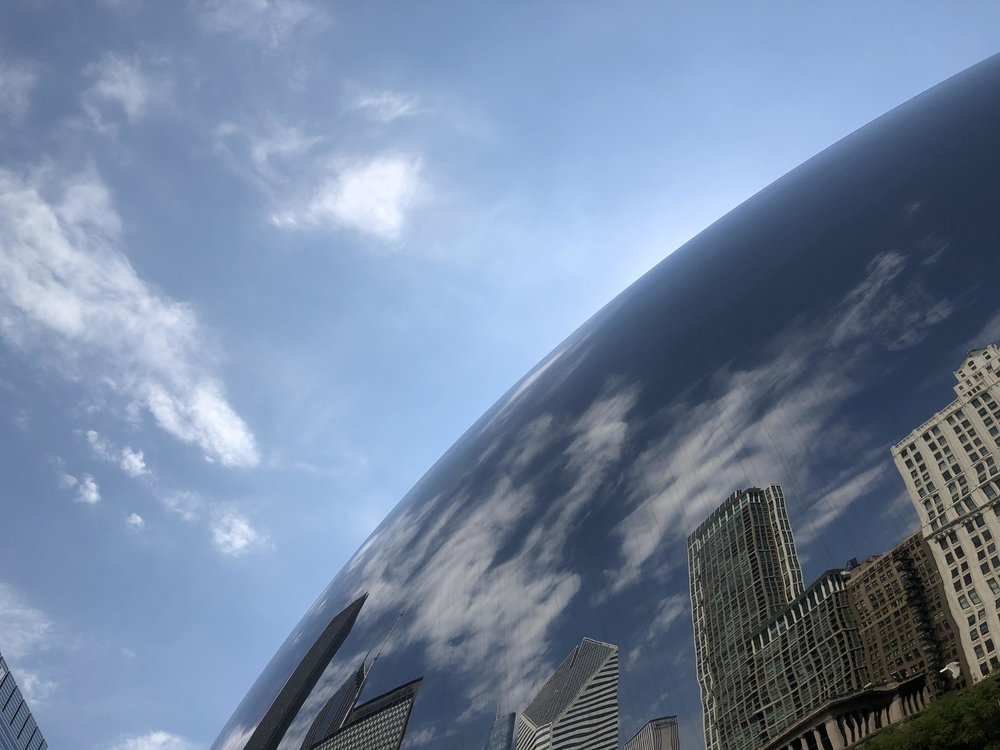 Cloud Gate, Sir Anish Kapoor; Chicago (photo: Andy Bruner)