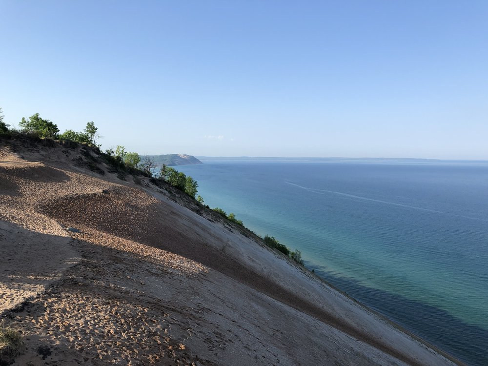 Sleeping Bear Dunes National Lakeshore, Lake Michigan (photo: Andy Bruner)