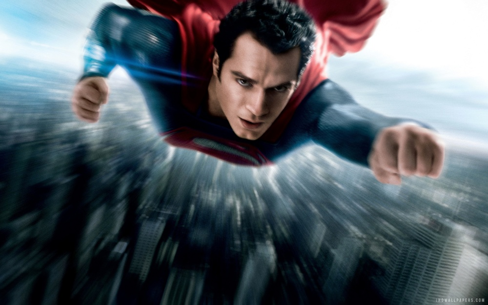 Man of Steel (2013) features exciting flying sequences reminiscent of anime action.