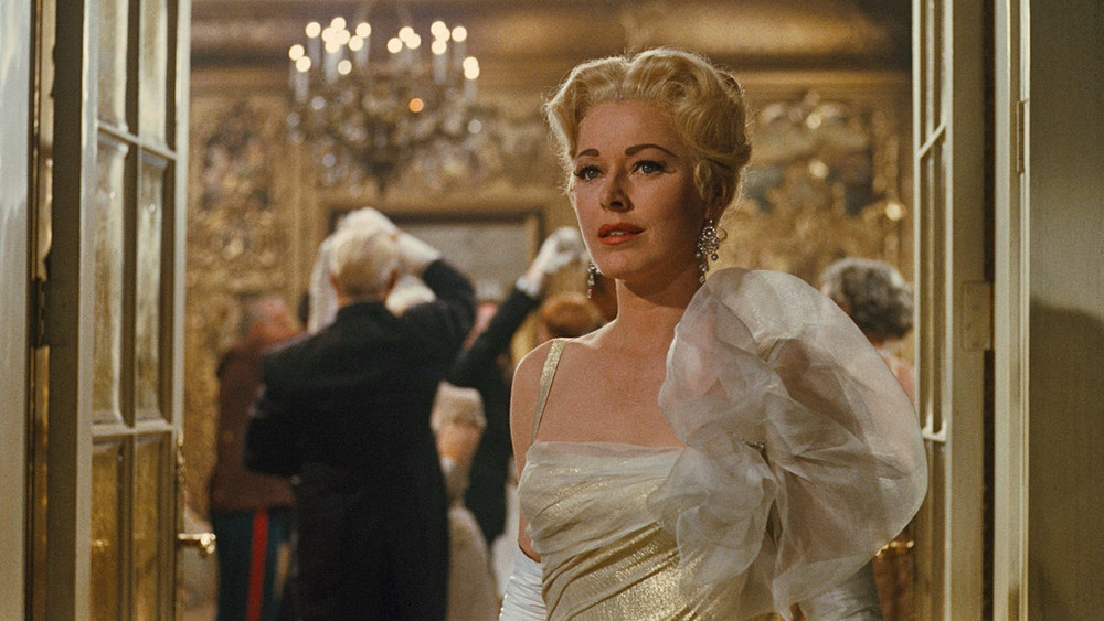 The stunning Eleanor Parker as the Baroness in The Sound of Music (1965).
