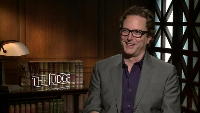 David Dobkin during his press tour for the Judge Image ctsy of Hitfix.com