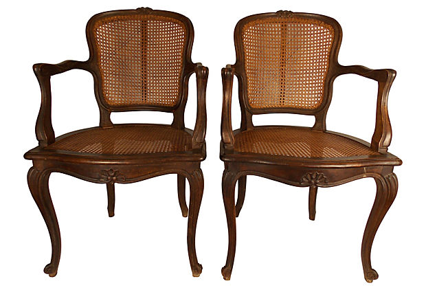 Louis XV-Style Caned Chairs, Pair.jpg