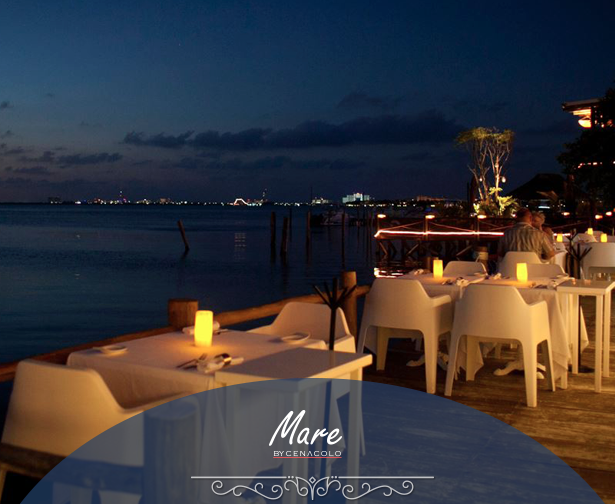 IMAGE TAKEN FROM http://restaurantemare.com/mare/ // MARE BY THE BAY // TELL THEM ITS YOUR BIRTHDAY