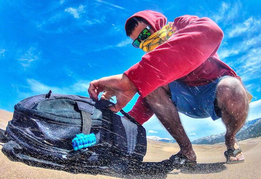 image captured on GOPRO HERO 2 // The Great Sand Dunes National Park // Image by frankieboyphotography.com