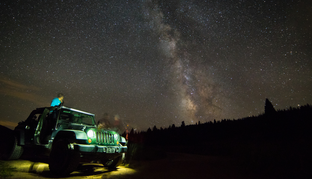 jeeps vail colorado frankieboyphotography astrophotography milkyway travel tunes