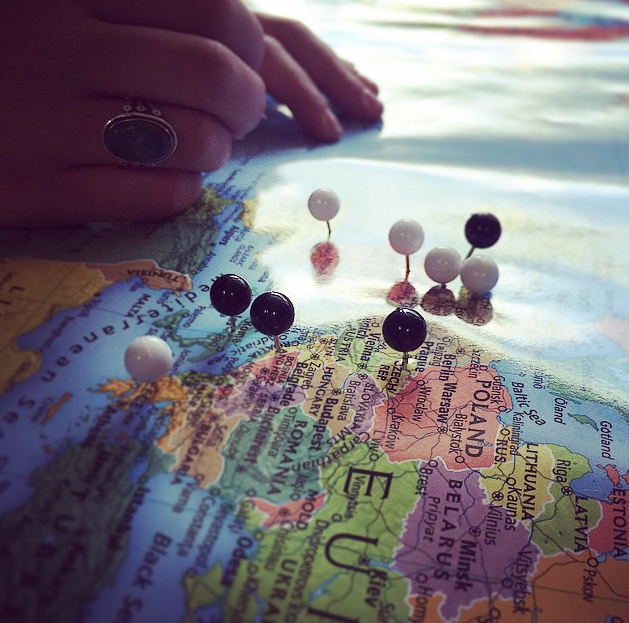 OUR DREAM MAP // WHERE IN THE WORLD WILL YOU GO? MEET YOU THERE?