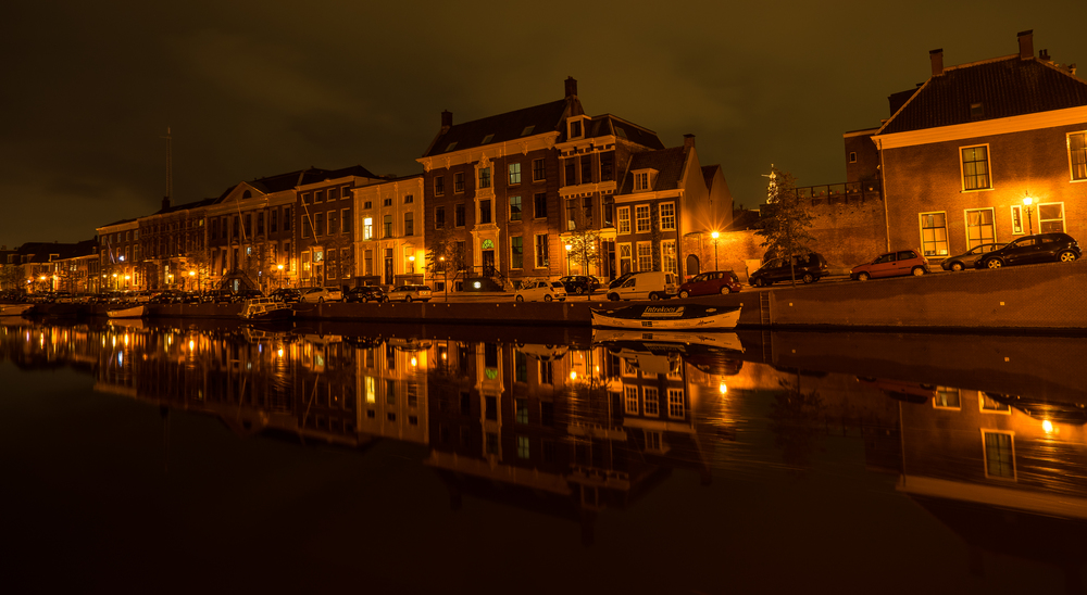 LONG EXPOSURE BY HAARLEMS CANAL SIDE // FRANKIEBOYPHOTOGRAPHY.COM