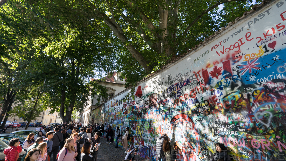 JOHN LENNON WALL // MEETYOUTHERE.ME IMAGES