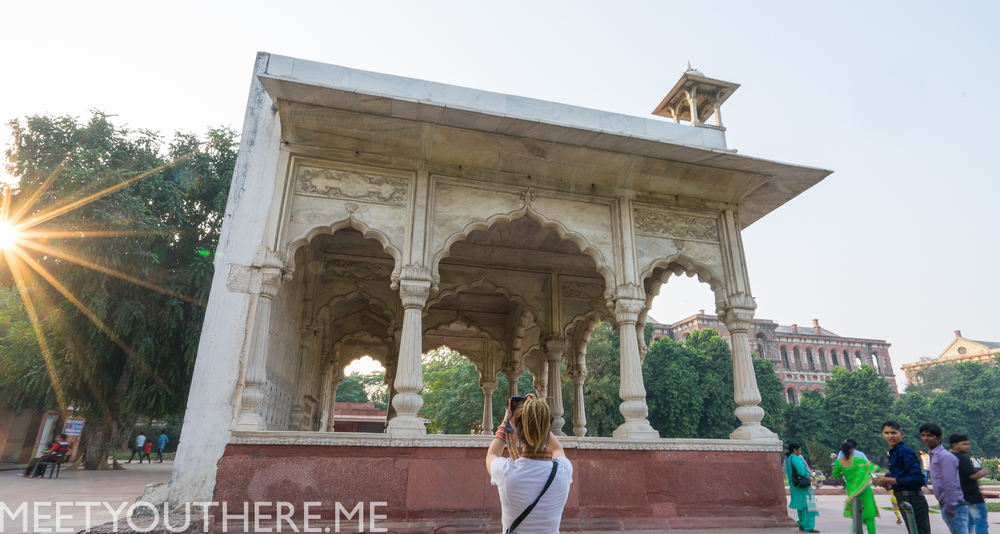 EMILY CAPTURING THE GREATNESS OF THE RED FORT // MEET YOU THERE