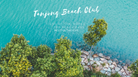 TANJONG BEACH CLUB // SINGAPORE // aerial shot by: instagram.com/fr33Water