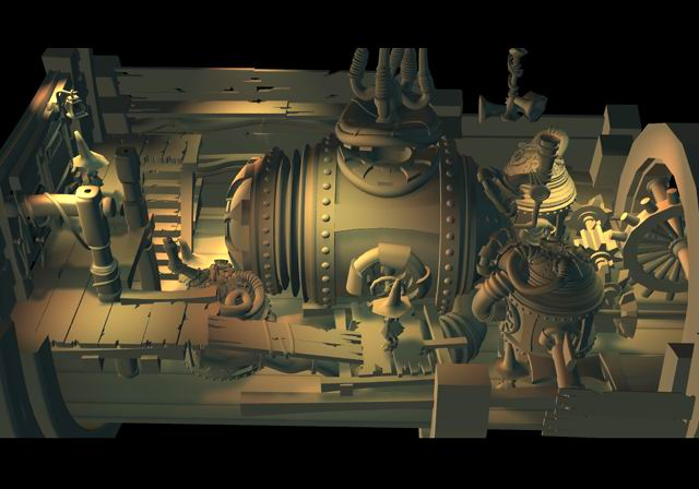 Engine Room    Modeling/Texture/Lighting:   Behrooz Roozbeh