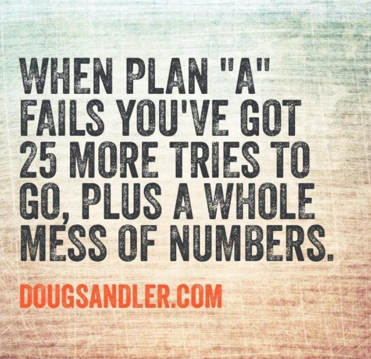 Plan A Nice Guys Finish First Doug Sandler