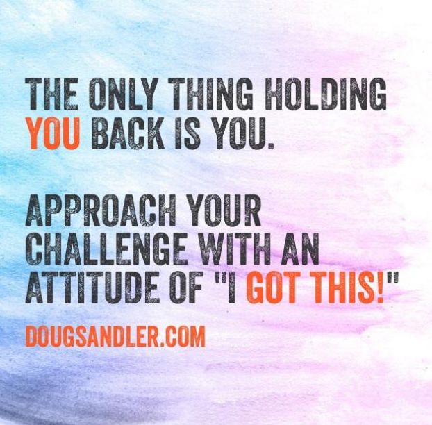 Holding back Empowering Nice Guys Finish First Doug Sandler