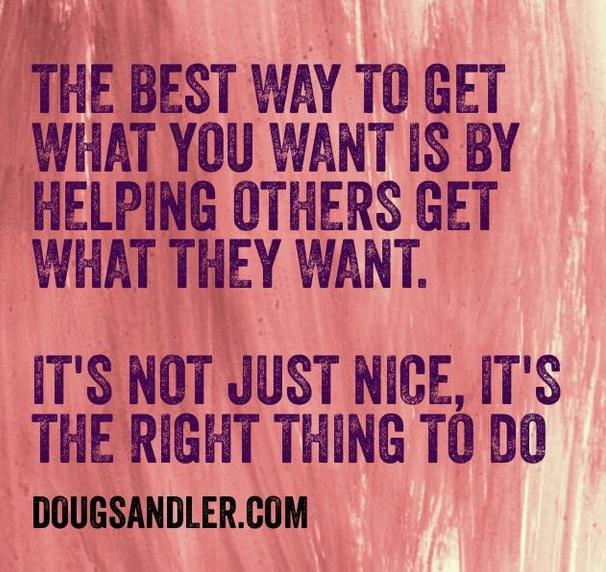 The right thing Empowering Nice Guys Finish First Doug Sandler