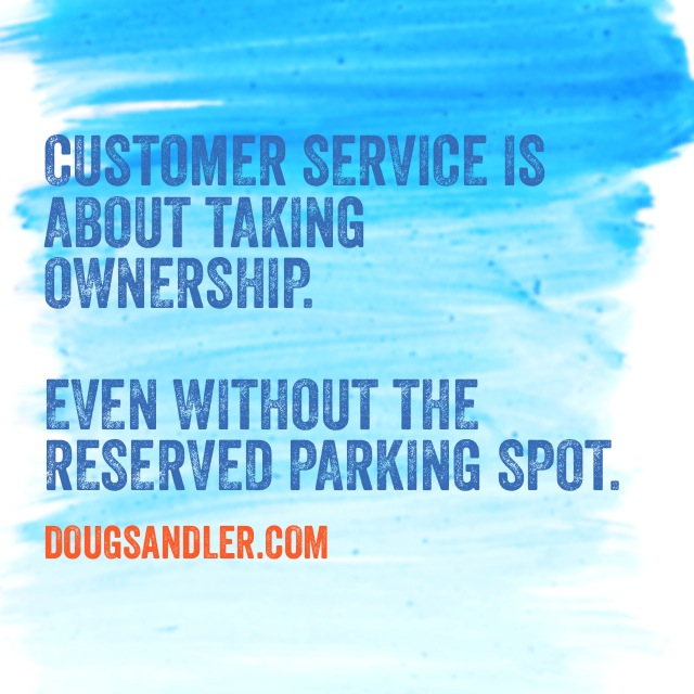 Ownership Customer Service Rules  Nice Guys Finish First Doug Sandler