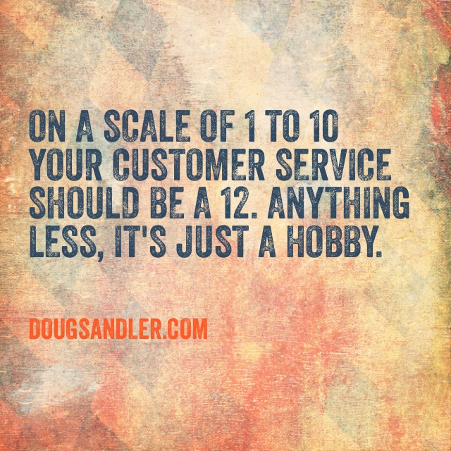 Rating Customer Service Rules  Nice Guys Finish First Doug Sandler