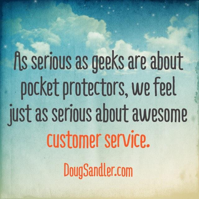 Geeks on Customer Service