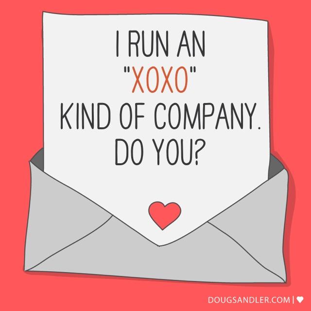 I run an XOXO company