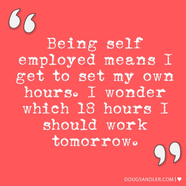 About Self Employment