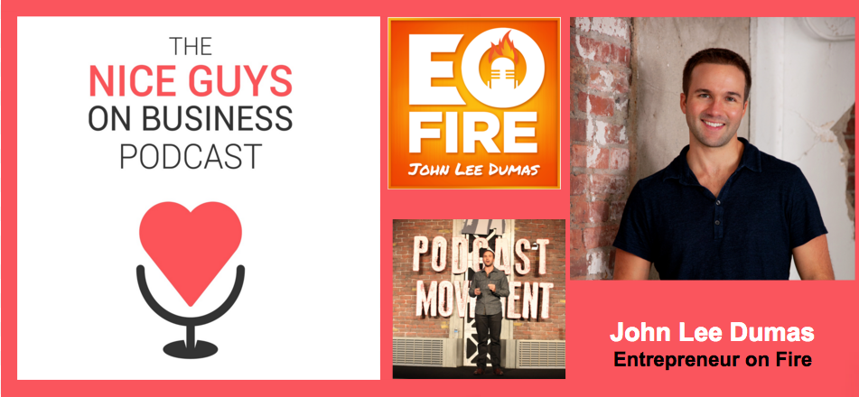 Prepare to ignite with today's guest John Lee Dumas