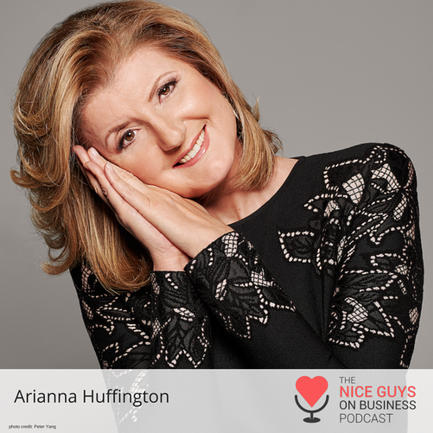 Publishing powerhouse  @ariannahuff  is sleeping her way to the top. Check out how she does it.